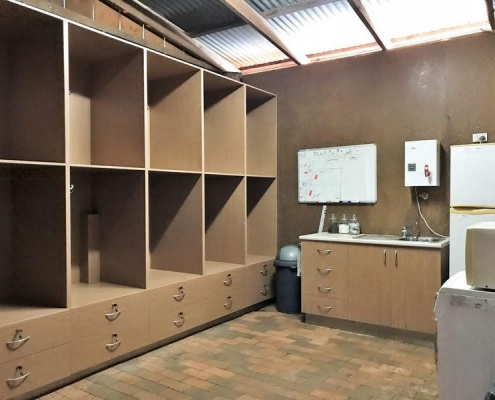 Locakable Tack Room