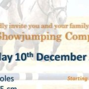 2017 Xmas Showjumping Competition