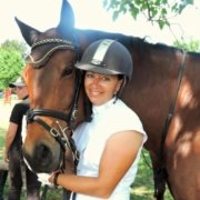 A few years ago, I was riding race horses... My favourite by far was Togha, Cori