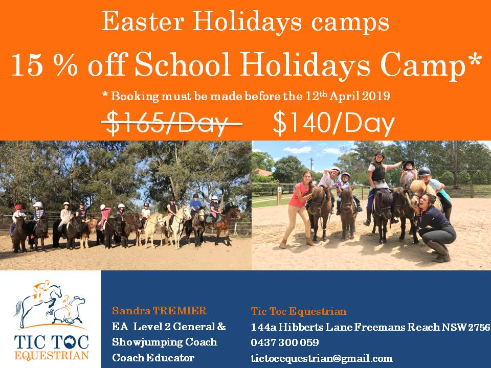 Easter School Holidays  Don't forget to book a special day of fun made in Tic To - Easter School Holidays Don't forget to book a special image
