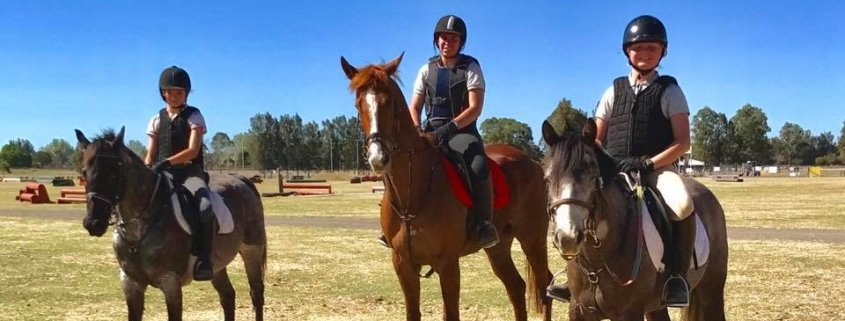 Great start of the school holidays for the Tic Toc riders:   A day at the Hawkes