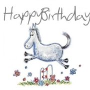 Happy birthday at all our wonderful ponies