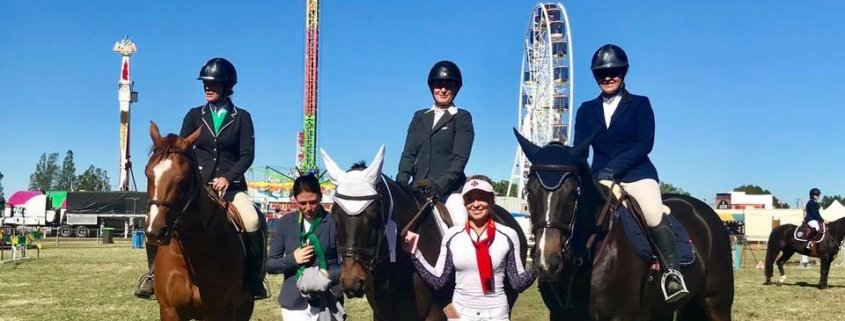 Hawkesburry Ag Show - Sunday Hack Ring First outing for Buzz and Sam, to say