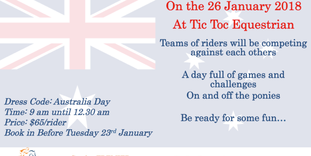 Let's Celebrate Australia day together: 4 Teams will be competing against each o