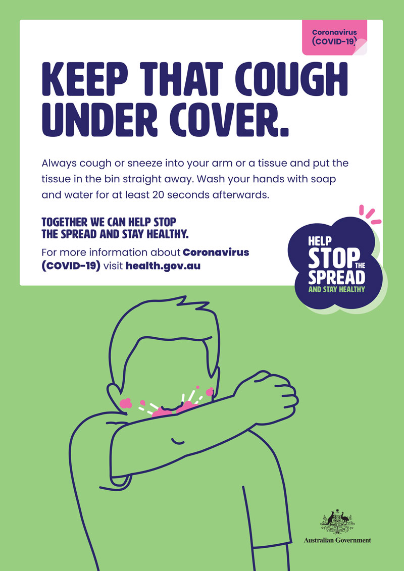 Health & Safety Action Plan - coronavirus covid 19 keep that cough under cover 0 image