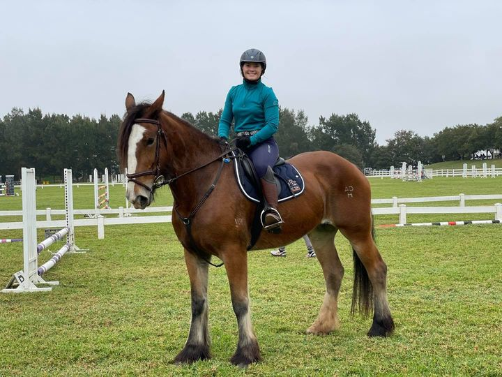 Everest had her first day out as a showjumpers at SSJC today and she loved it! G - Everest had her first day out as a showjumpers at image