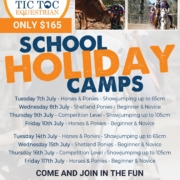 School Holidays are almost here, join us for a day camp or two, or three... Plac