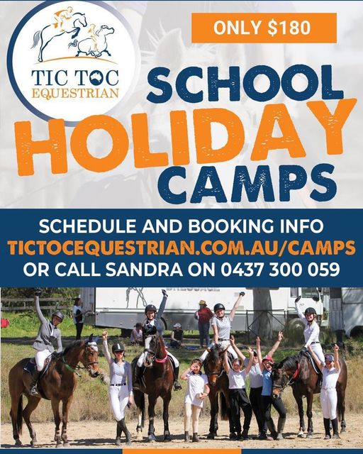 School holiday camps... the program is on the website. Bookings are open - School holiday camps the program is on the website Bookings image