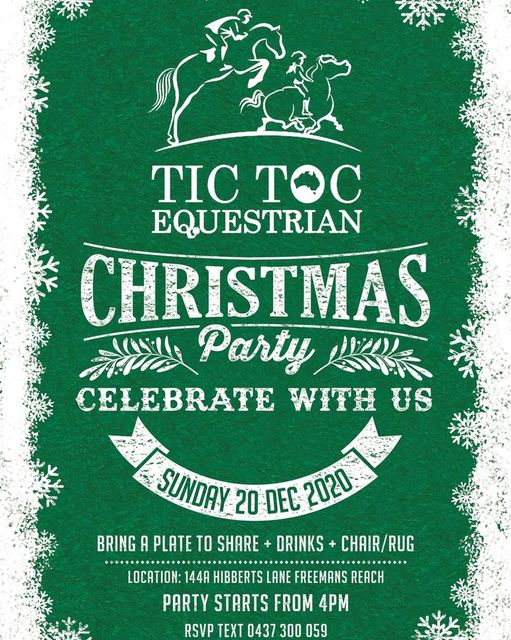 The Tic Toc Christmas party is on soon! It's time to celebrate a 'special' year - The Tic Toc Christmas party is on soon Its time image