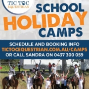 Tic....Toc....Tic....Toc.... School Holiday Program is up! Check our website and