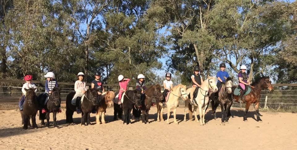 10 amazing riders + 10 exceptional Ponies  + 2 tip top coaches = Another day in Paradise 1
