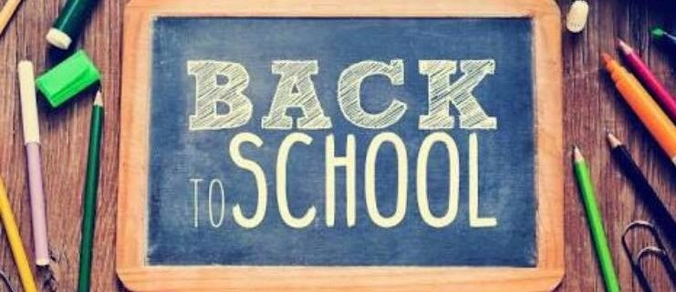 Back to school Good luck to all the Tic Toc riders, siblings and friends who are