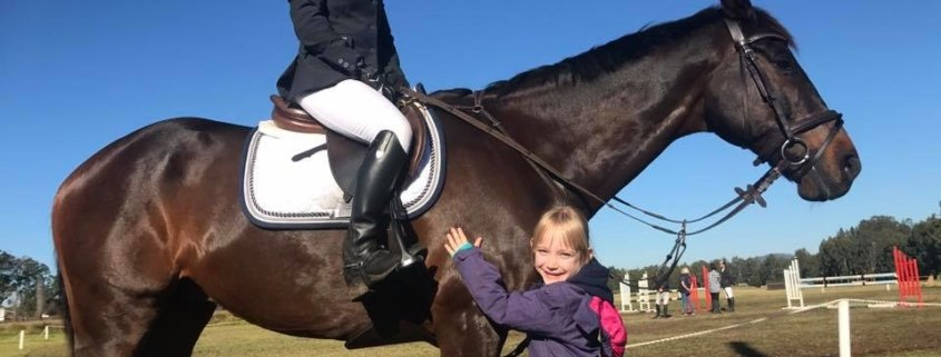 Big week end of Showjumping for the Tic Toc Team!  And the star so far is Mandy
