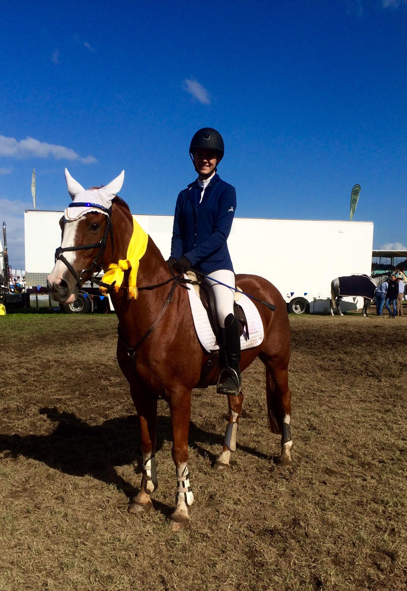 Congratulations Leesh and Tayla for placing at Equifest during the weekend. 1
