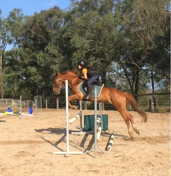 Great jumping, girls 1