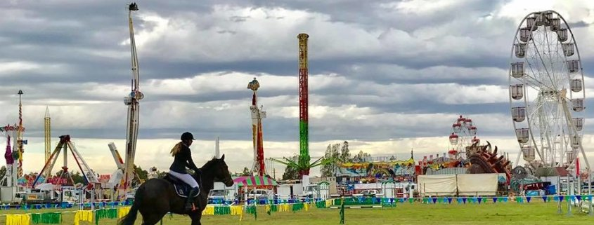 Hawkesbury Agricultural Show 2019    It was a big Challenge for the Tic Toc rid