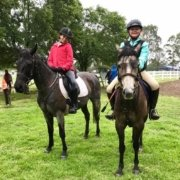 Rain doesn't stop those little stars... Huge congratulation to Kirra and Olivia,