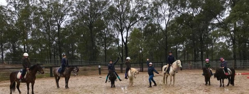 Rain or shine... horse riding is an outdoor sport after all. At Tic Toc we are p