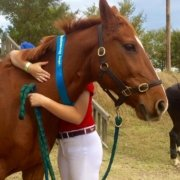 So proud of Tamara and TT Pluto, winning their Showjumping class today at SSJC.