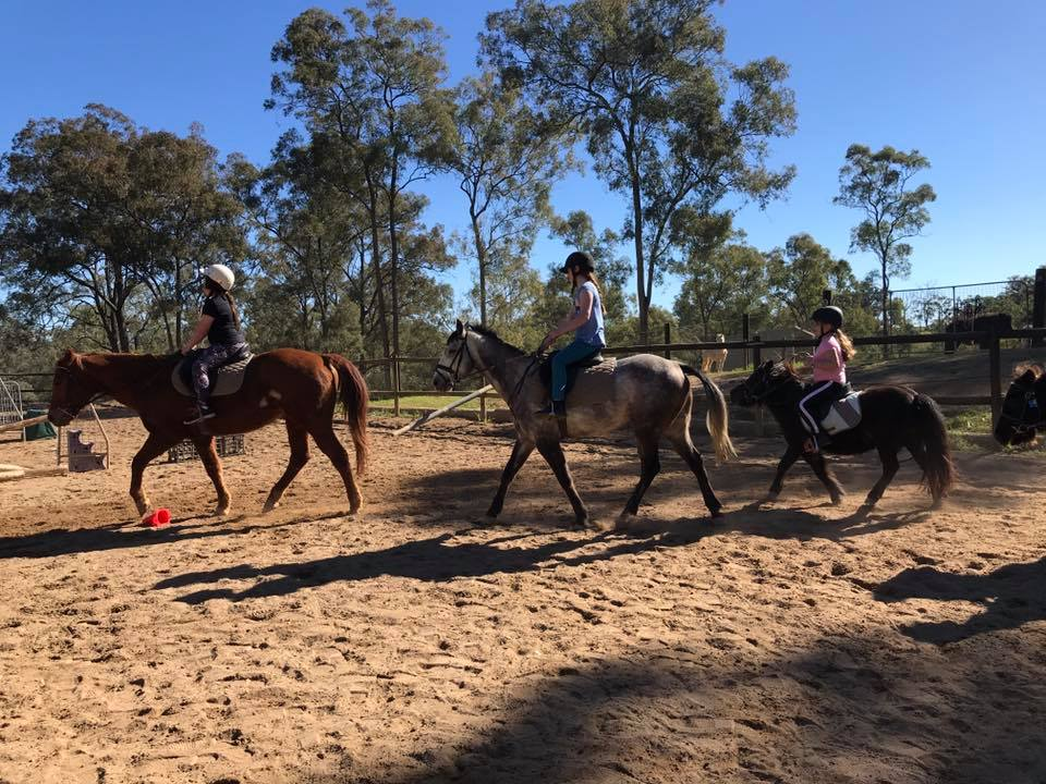 Thank you to the wonderful riders that shared the school holidays with us. 15