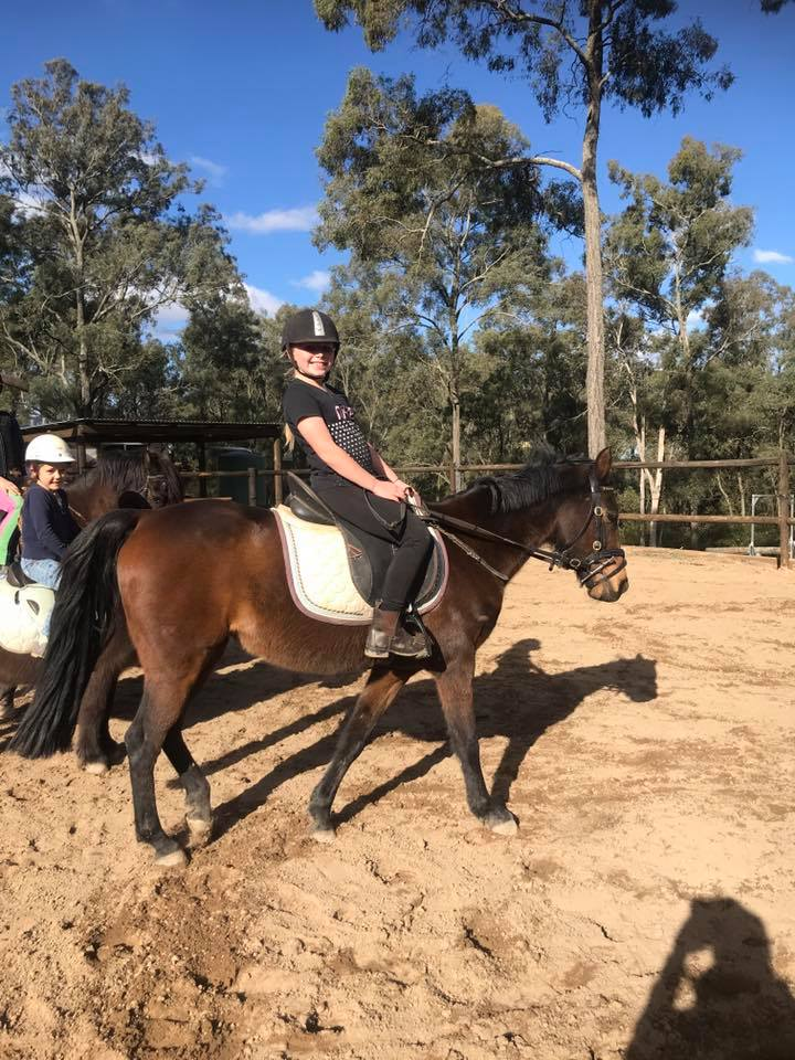 Thank you to the wonderful riders that shared the school holidays with us. 12