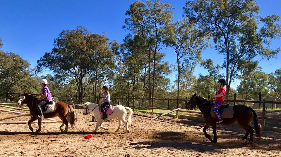 Thank you to the wonderful riders that shared the school holidays with us. 16