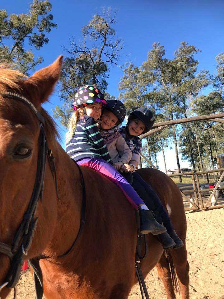 Thank you to the wonderful riders that shared the school holidays with us. 4