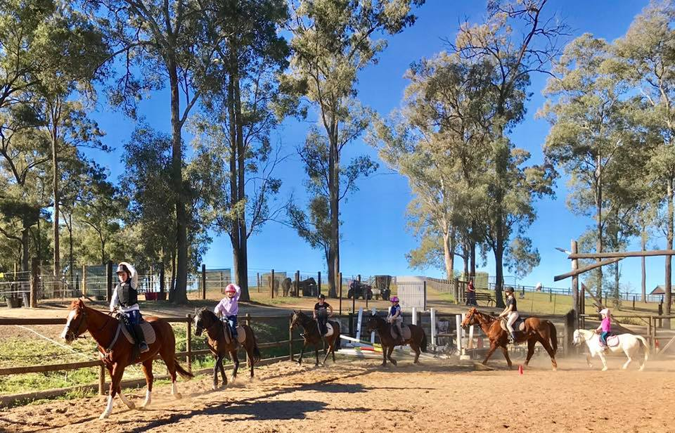 Thank you to the wonderful riders that shared the school holidays with us. 2