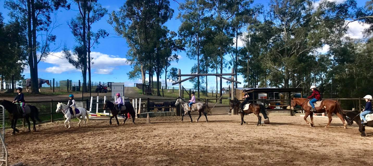 Thank you to the wonderful riders that shared the school holidays with us. 14