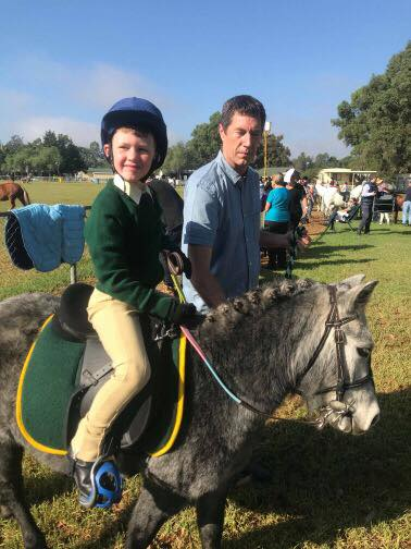 The Hawkesbury show is not all about jumping.. 1