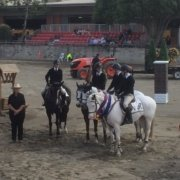 They won!  Huge congratulation to Tayla Jodi Turner and Pony Club area 1 Team fo