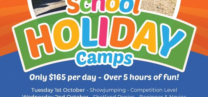 Spring School Holiday Camps Smell the fresh air of horses during the next sch