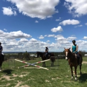 School Holiday Camps - Part 2    The Showjumping girls have officially christen